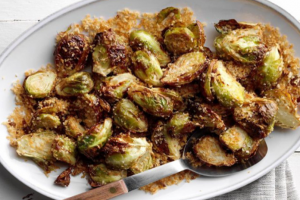 Air Fryer Garlic Rosemary Brussles Sprouts