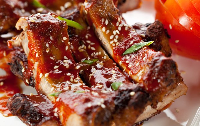 Air-Grilled XO Baby Ribs