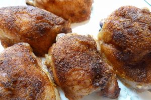Grilled Chicken Thighs in Airfryer