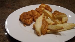 simple fish and chips airfryer
