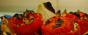 airfryer roasted peppers
