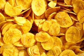 air fryer banana crisps