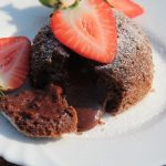 Chocolate Lava Cake in the Air Fryer